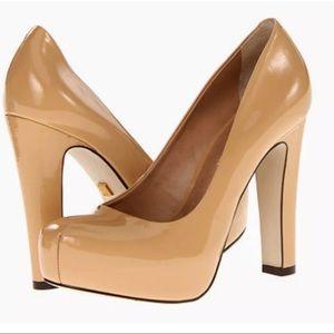 Pour La Victorie Erina Camel Patent Leather, Size6